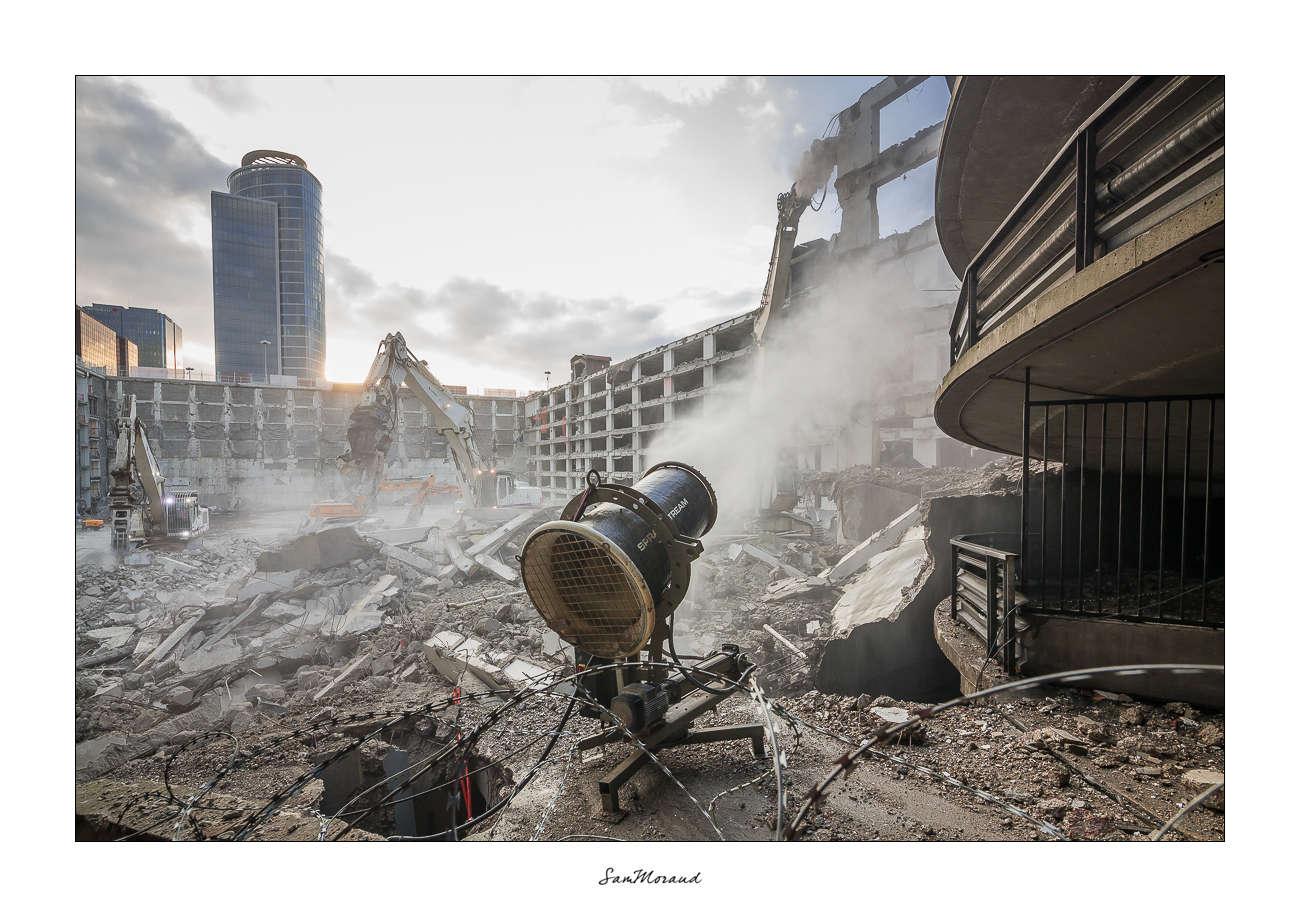 Demolition parking lyon part dieu photo vid o timelapse sur chantier - Du bruit dans la cuisine part dieu ...