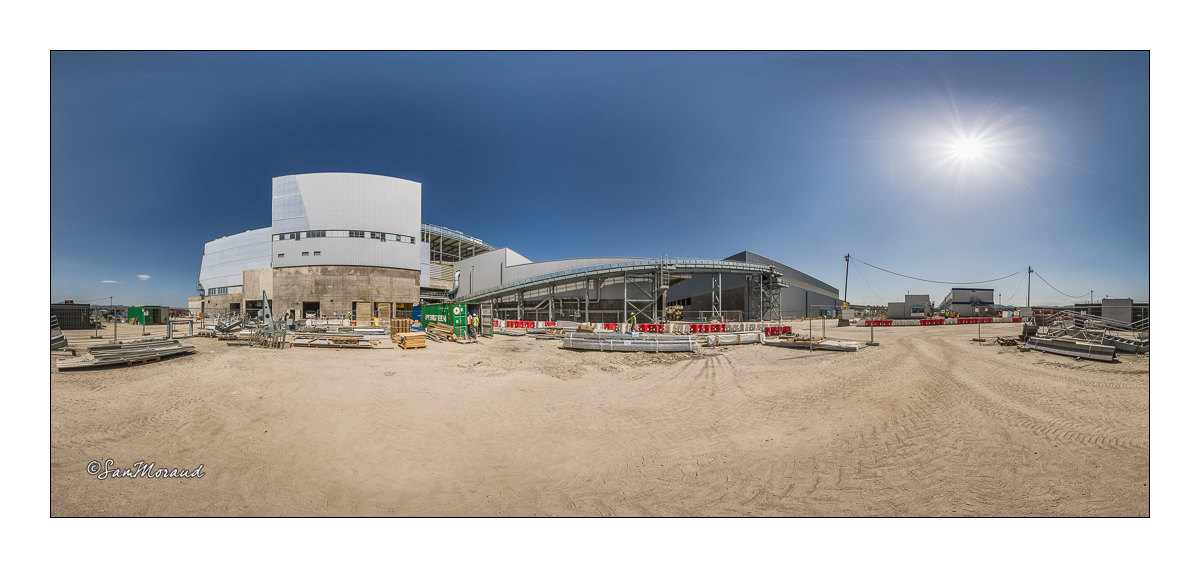 Photographe chantier photo panoramique industrie btp