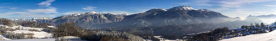 photo panoramique isère