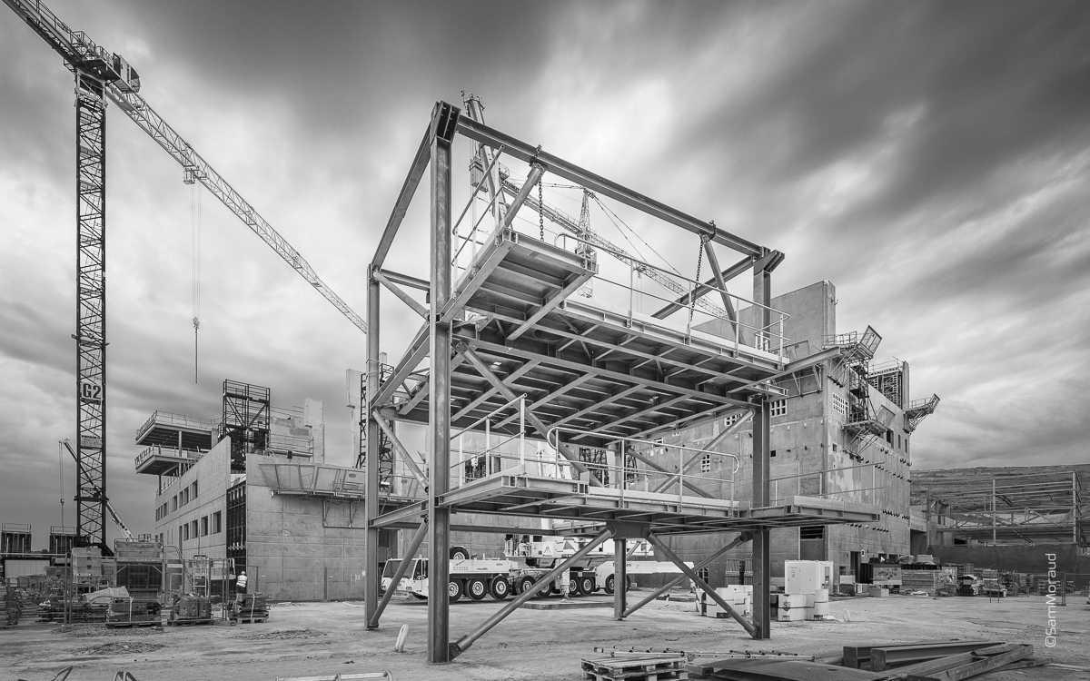 Photographe chantier industrie suivi chantier construction btp for Chantiers de construction