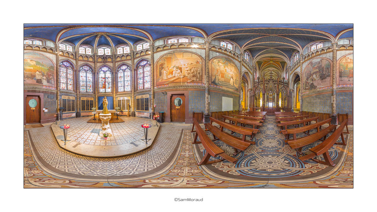 Eglise Saint Bruno Voiron 360