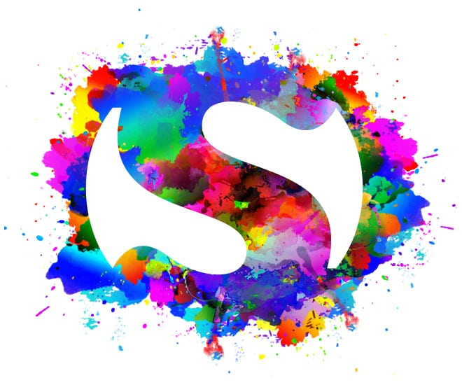 Création logo coloré