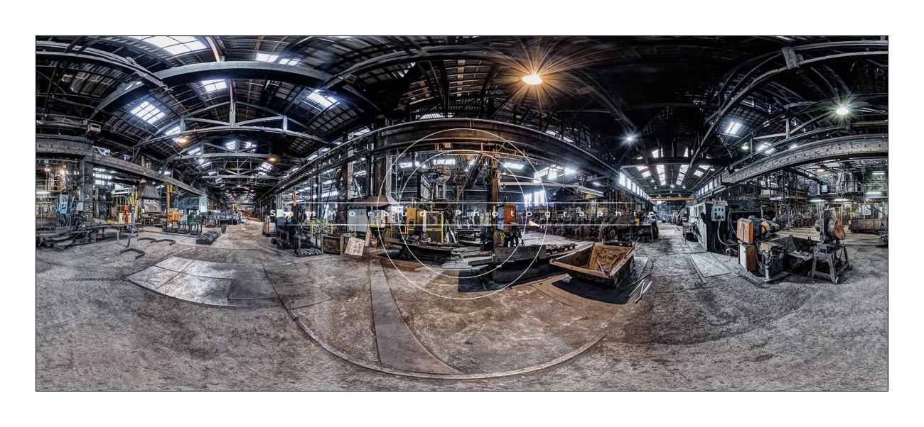 Photo panoramique 360° Acierie Bonpertuis