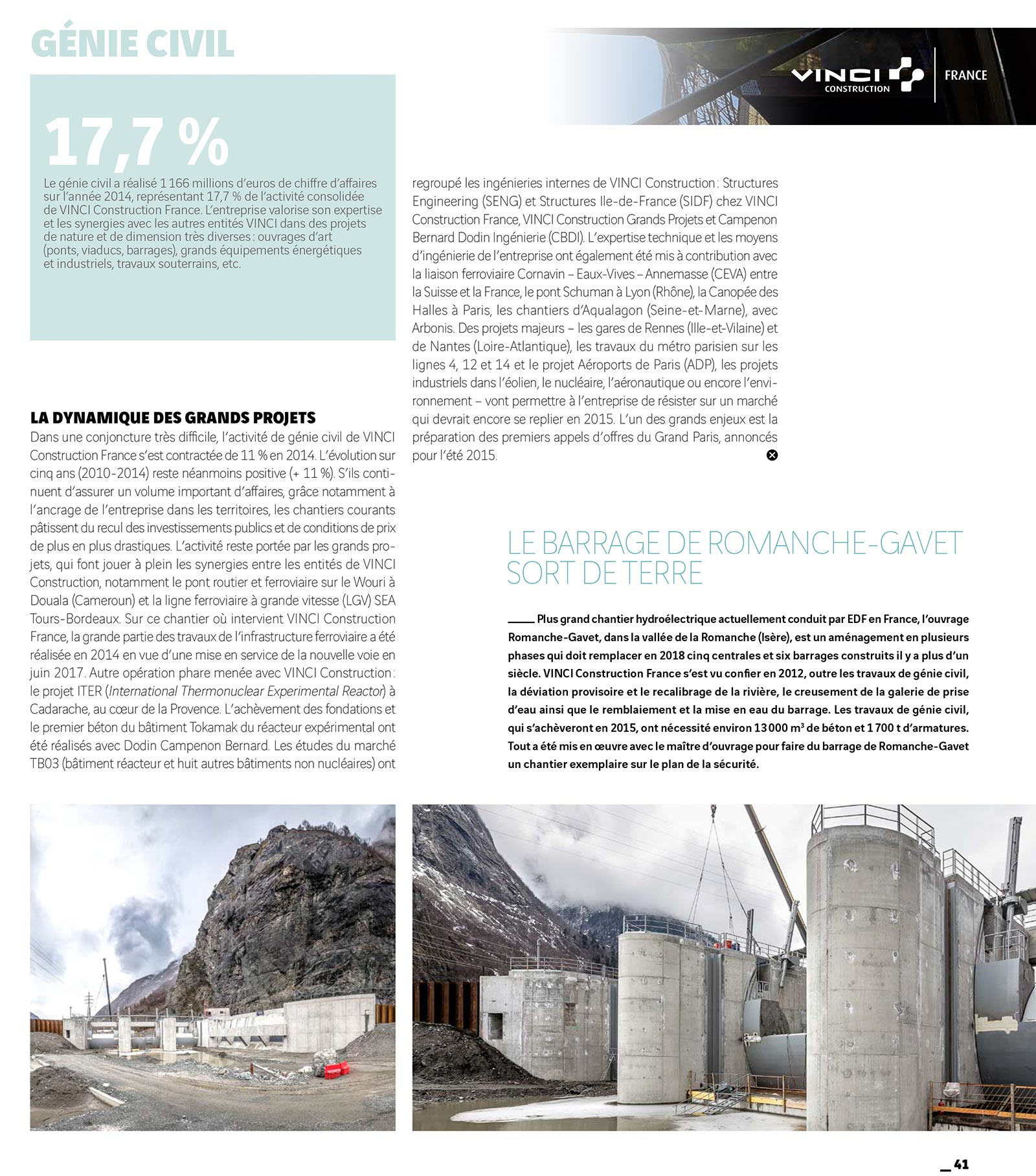 Rapport d'activité 2014 de VCF