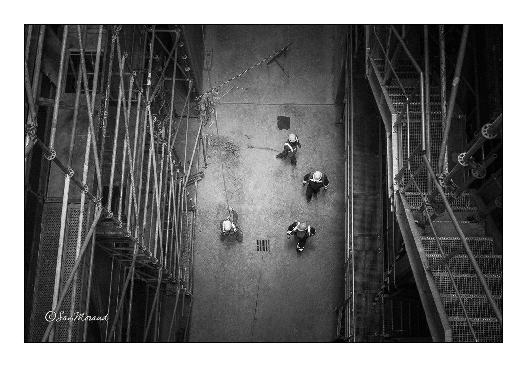 Photographie des chantiers et des hommes