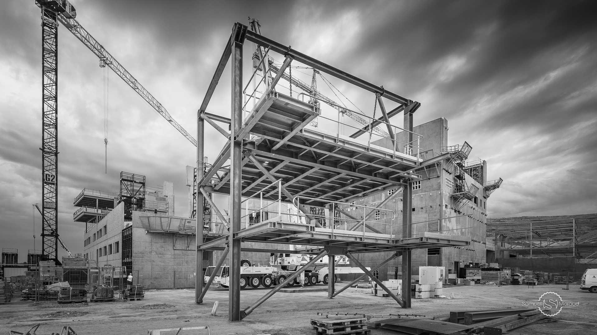 Samuel moraud photographe grenoble photographe pour les for Chantiers de construction