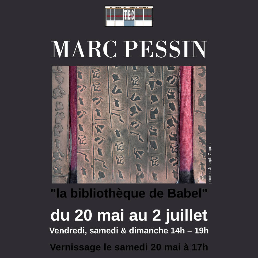 Flyer Expo Marc Pessin