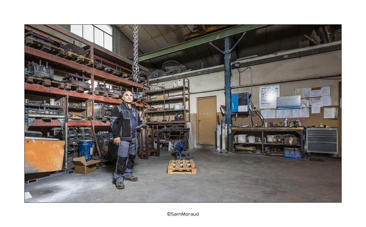Portrait usine