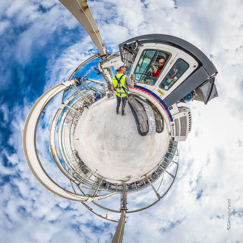 Visite Virtuelle Demolition Site Industriel