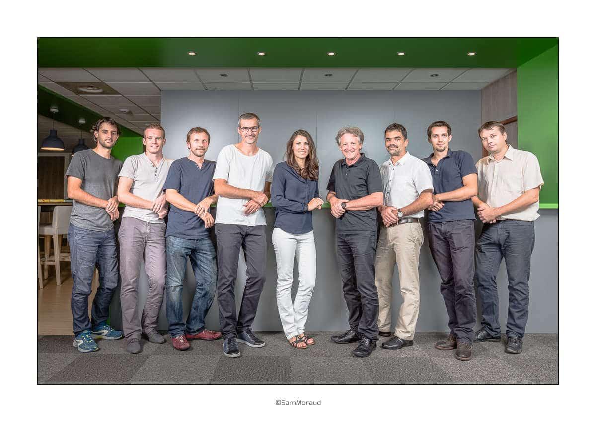 Photo d'équipe entreprise