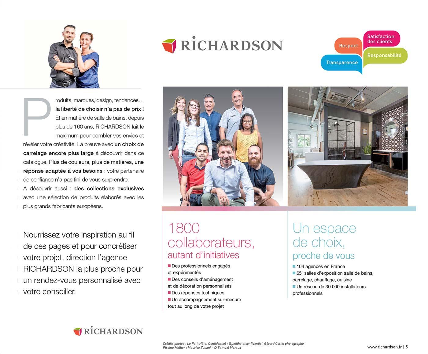 Richardson - Catalogue Salle de Bain et Carrelage 2018