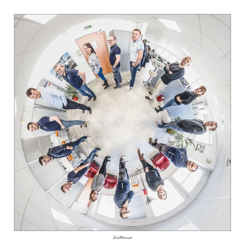 Photo groupe entreprise