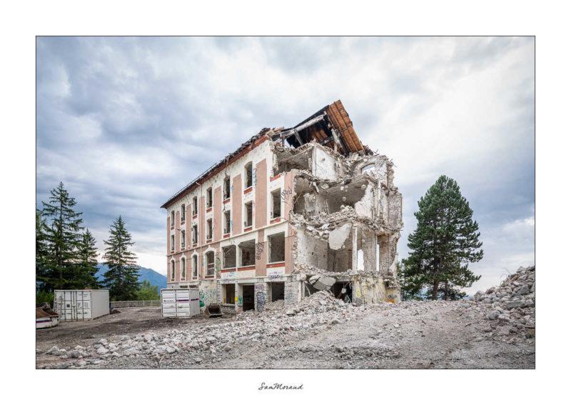 Démolition Sanatorium Saint Hilaire